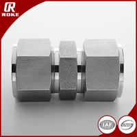 Carbon Steel Hydraulic Swagelok Union Compression Fittings