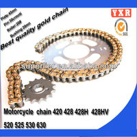 Motorcycle parts chain sprocket,for repuestos para motos,new product motorcycle chain drive