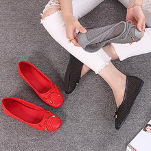Ladies fancy canvas shoes flat casual shoes attractive style flat women shoes