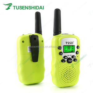 Mini pocket walkie talkie wo way radio for kids