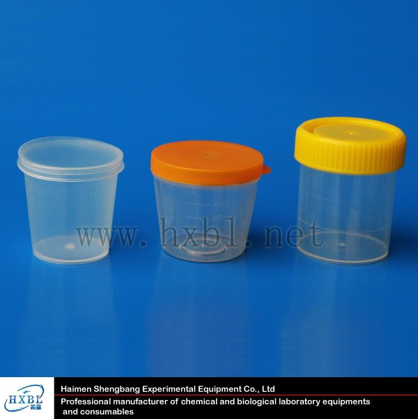 individual packing urine container