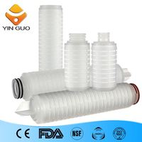 polyethylene water tank nalco water treatment chemicals filter element filtering out sediment