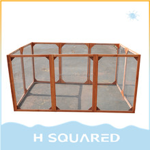 Outdoor Backyard Small Chicken Coop Rabbit Hutch For Hen Run Cage Designs