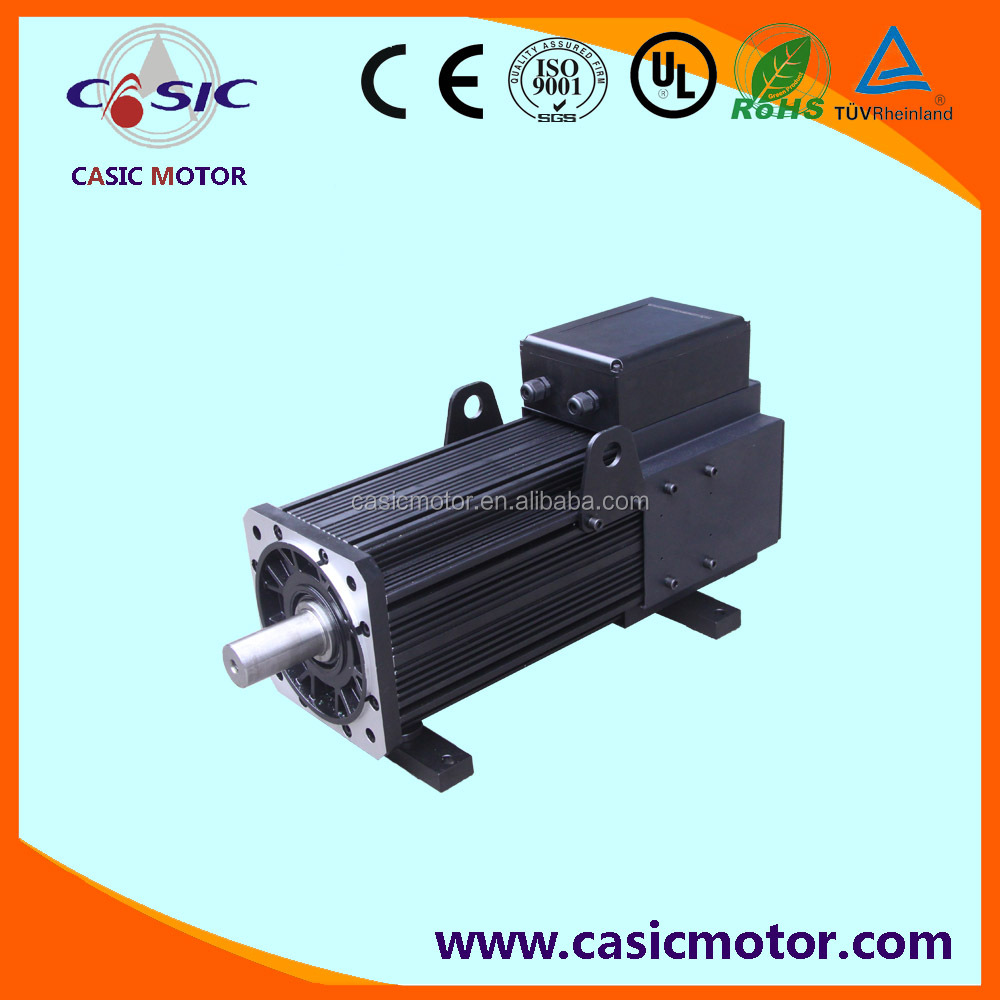5.5kw to 106kw high efficiency AC servo motor for injection molding machine