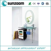 China supplier Sunzoom bathroom cabinet with towel bar