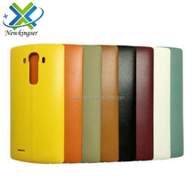 New Leather Battery Cover For LG G4 H815 F500 Back Cover Battery Door Housing Case Replacement