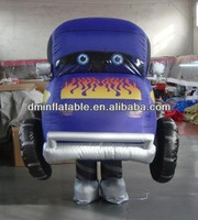 2014 Hot sale inflatable car cartoon costumes