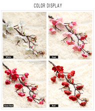 MW36856 Chinese plum blossom wholesale colorful artificial flower for home office decoration