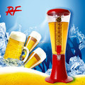 good quality 3L beer tower with ice tube ,cold beer dispenser