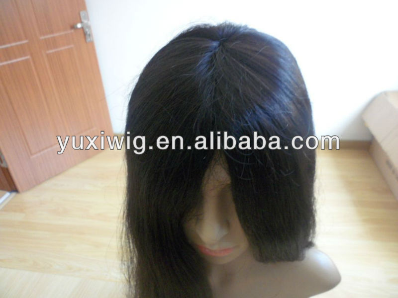 100% AAAAA remy human hair cheap full lace wig with baby hair