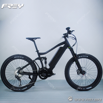 3rd Gen Am1000 Strong Electric Mountain Bike Full Suspension View