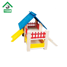 fashionable Factory supplier wooden pet house
