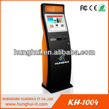 Multi-Functional Restaurant Touch Kiosk, Touch Kiosk For Restaurant