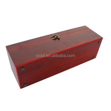 high end handle wooden box for wine