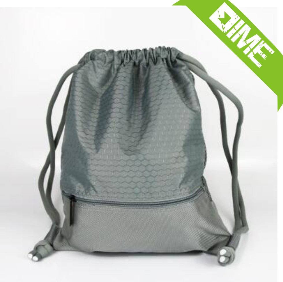 Natural Color Printing Of Polyester Rope Pulling Drawstring Bag