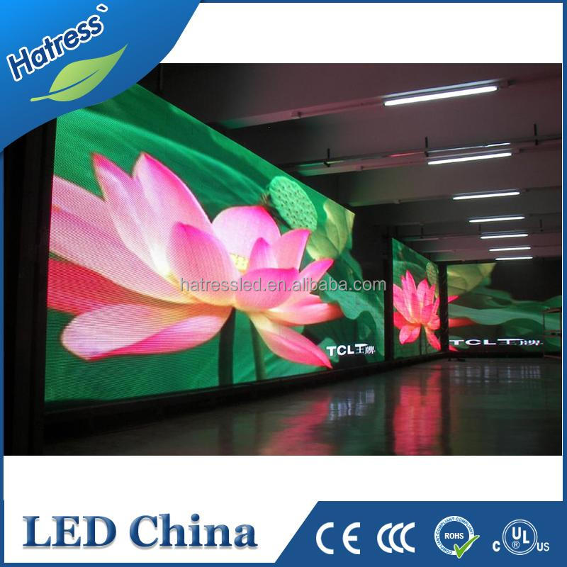 High definition P2.5 digital moving message/advertisement led display