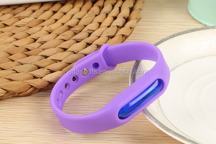 Silicone natural Mosquito waterproof Repellent Silicone Bracelet for Children