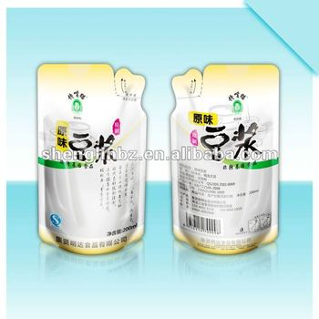 patent pouches for soy milk pack