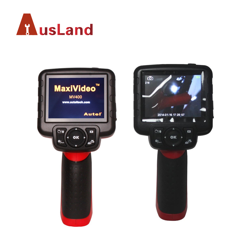 Autel MaxiVideo MV400 5.5mm Imager Head Digital Videoscope for Car Fault Detector MV400