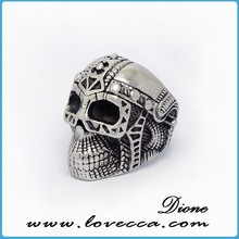 hotsale high quality fashion superman stainless steel wedding rings