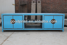 2014 hot sale furniture, chinhese antique 4 door TV cabinet