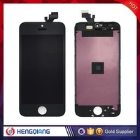 lcd for iphone 5 lcd touch screen assembly, for iphone 5 lcd digitizer DHL shipping