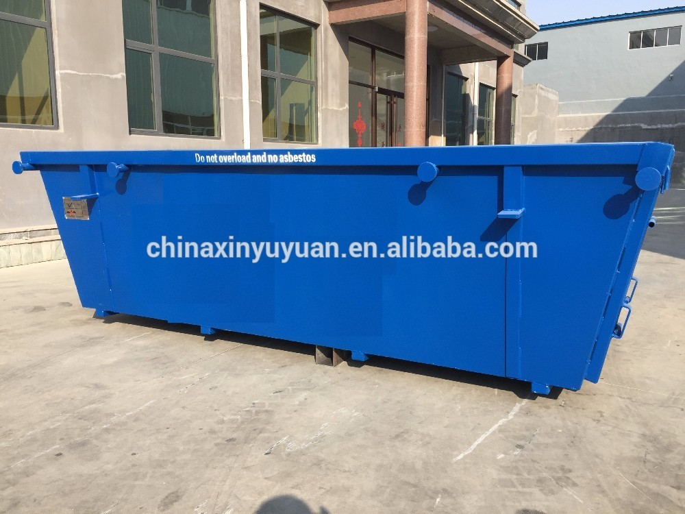 Australia standard heavy duty custom steel hook lift bin for sale