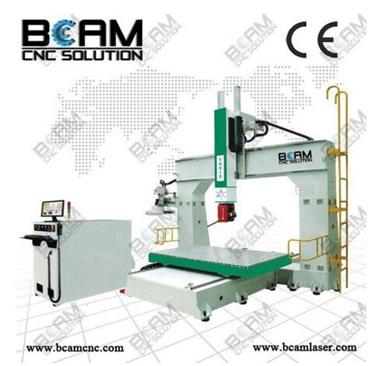 small moulding cnc router machine/5 axis cnc wood carving machine/5 axis cnc machine for sale BCM6090