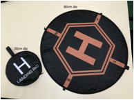 High quality customized Drone Landing Pad 2 Sides usable warterproof