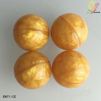 Butterfiy Toys Wholesale China Factory 27mm Bounce Golden Ball