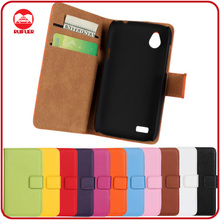 RF Manufacturer Wholesale Book Style Pouch Pocket Stand Wallet Leather Phone Cover for HTC Desire X Leather Flip Case