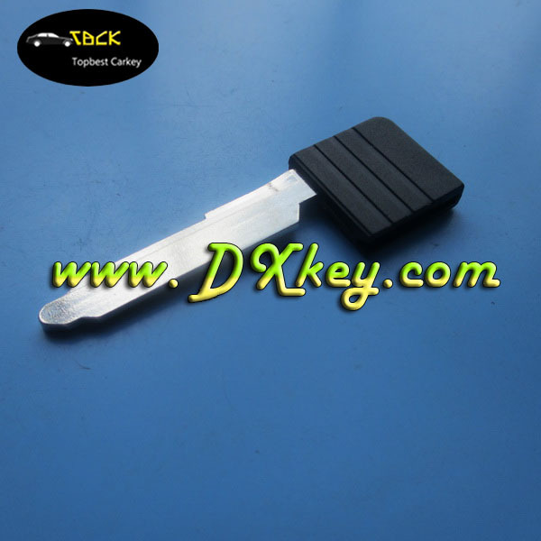 High quality smart card key for mazda valet key blade for mazda 3 key