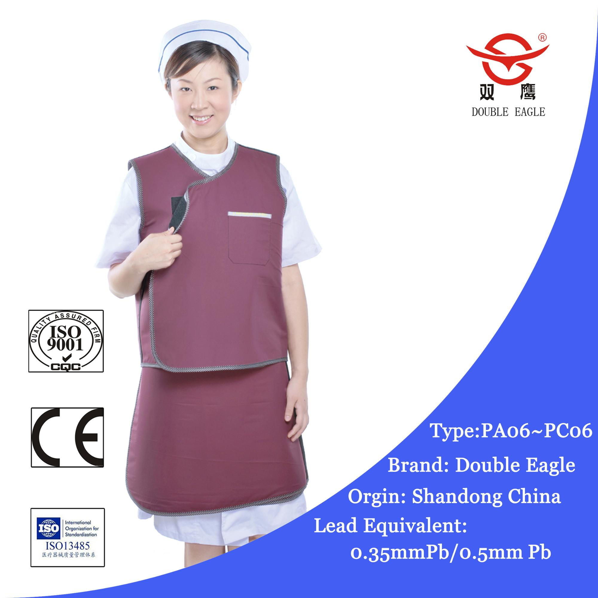 2018 lead rubber lead protection/medical lead/lead protection x-ray apron