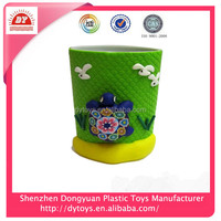 ICTI certificated custom make end personalized large plastic mugs for kids