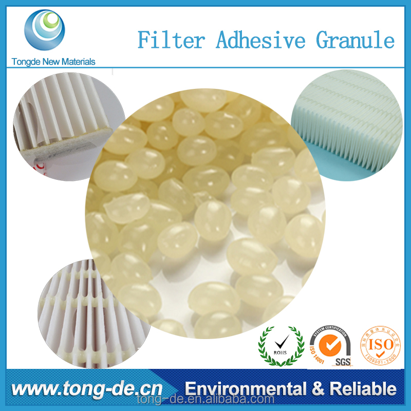 Competitive and promotion 100% solid hot melt eva air filter adhesive