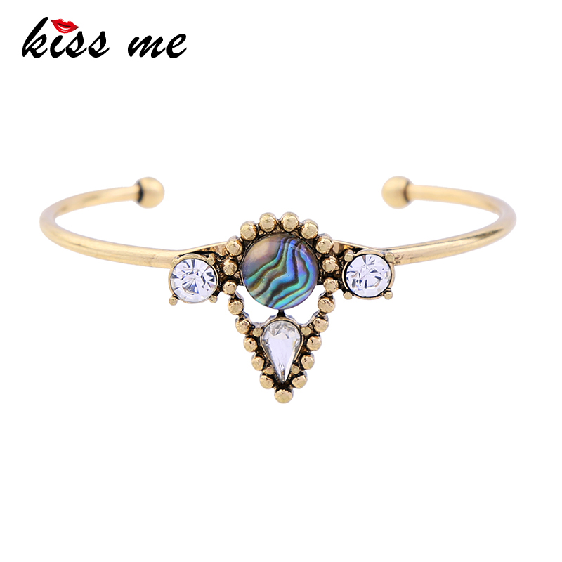 sl00337b Shell Paper Glass Friendship Bangles Bracelets For Women