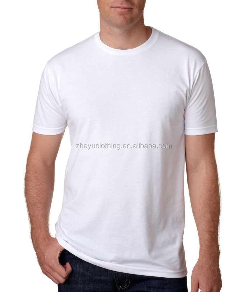 120gsm cheap polyester cotton blend o-neck t shirt for election