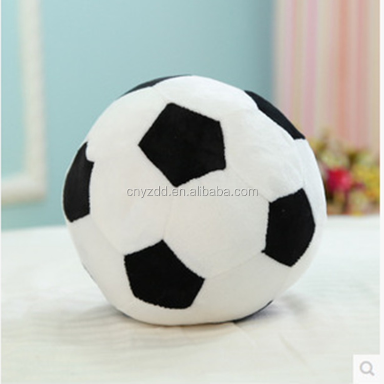 Plush stuffed soccer ball, plush football player toys, plush soccer balls