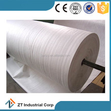 PP or PET Needle Punched Woven Nonwoven Geotextile for Road Construction