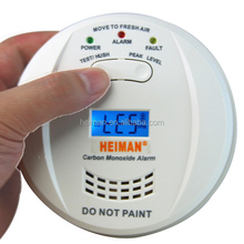 Home use auto carbon monoxide detector/ co alarm with ce approval