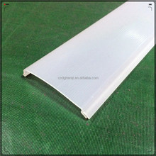 Polycarbonate Extrusion Lampshade/PC Profile for LED shell plastic cover for led strip
