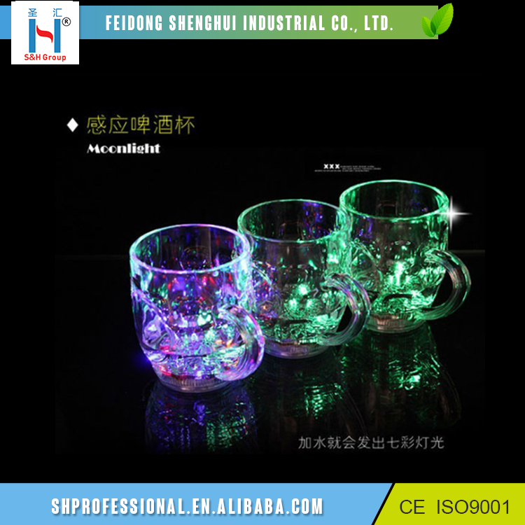 350Ml Flashing Plastic Cups Drinking Cups, Custom Led Cup