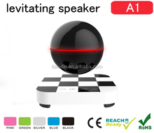 decorate christmas gifts Nfc Levitating Float Bluetooth Speaker Active Outdoor Speaker with wireless touch remote control