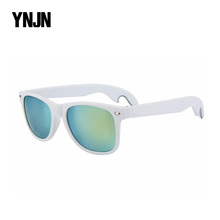 Taizhou YNJN customized brand your own custom logo bottle opener sunglasses