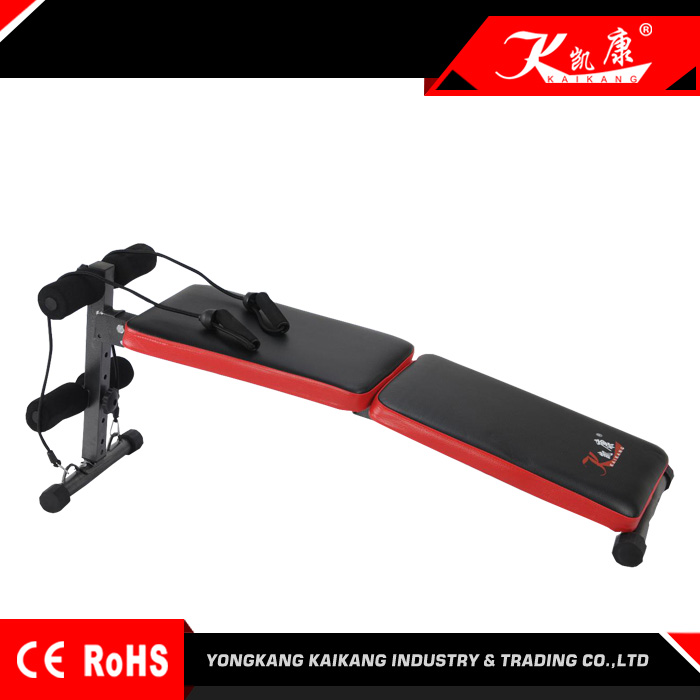 Pure Fitness Ab Crunch & Sit-Up Bench gym equipment