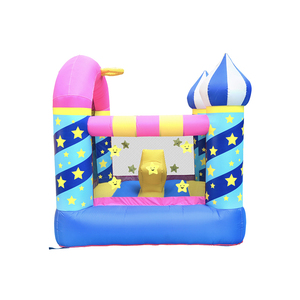New Customized Best Price Nylon Commercial Grade Inflatable Water Slide Small Jumping Castle Bounce With Handles For Adults