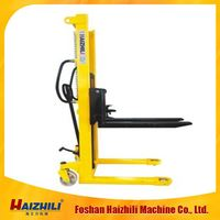 1000kg Hydraulic Manual Forklift Hand lift High Quality Manual Pallet Stacker