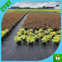 China factory supply PE/PP woven mulch cover, woven weed control mat/weed barrier mat