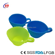 silicone cake mold Pantry Elements Silicone Baking Cups / Cupcake Liners - Molds in Storage Containe
