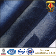 Made in china cheap prices thin stretch denim fabric